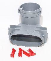 Vallox Oval-Rohrsystem