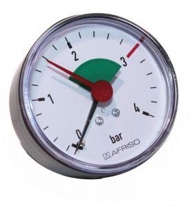 Thermometer und Manometer