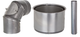 Abgasrohre Stahl Blank 160 mm