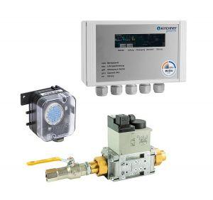 Küchenabgassicherung Typ EMS für Erdgas, bis 290 kW