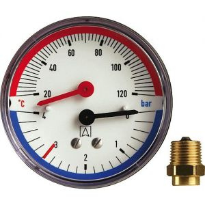 Thermometer / Manometer
