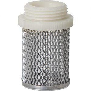 Saugkorb mit Kunststoffgewinde