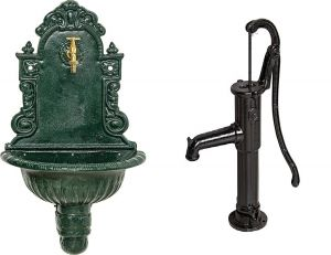 Schlag- und Wandbrunnen