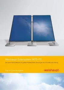 Solar-Systemkomponenten WTS-F2 Aufdach