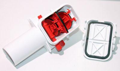 KESSEL Kessel-Rückstauverschluss Staufix 73053 Trichterausführung Siphon DN50 Kunststof