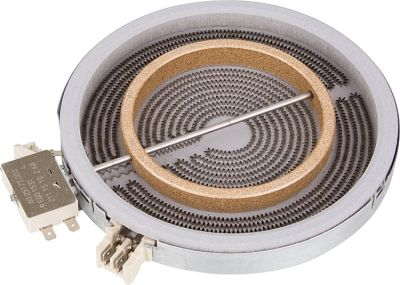 EVENES HiLight-Heizkörper Zweikreis 1700/700W-230V, d=180/120mm