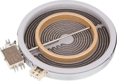 HiLight-Heizkörper Zweikreis 1800/700W-2 30V, d=180/120mm