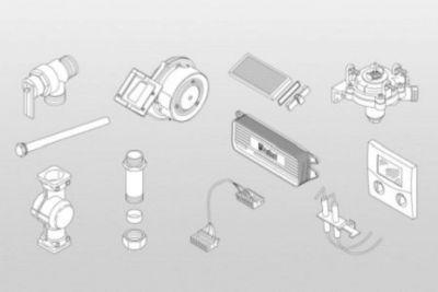Montage-Material für Module SM10 - 63017672