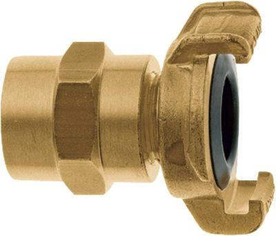 Geka Karasto Geka XKplus-Schlauchstück für Trinkwasser, 1-25 mm, Messing