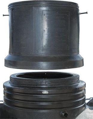 Intewa Domverlängerung für CU 3000 und CU 5000 LxBxH: 500x500x430