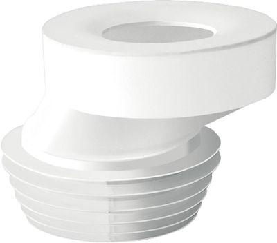 EVENES WC-Anschluss exentrisch 40mm Durchmesser 90-110 Farbe: weiss