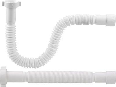 EVENES Flexibler Anschlußschlauch 1 1/2x40/50mm gerade Länge 383-870mm