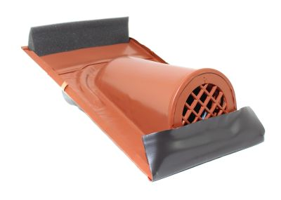 Marzari Technik Entlüftungshaube Typ Ton mit PVC-Schlauch, Farbe Rot