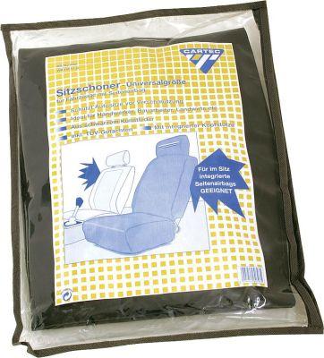 Sitzschoner mit integrierter Kopfstütze für Seitenairbag Far