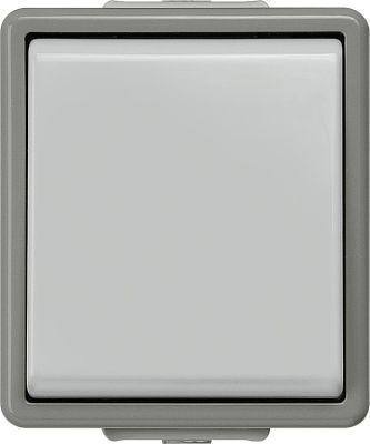 Aufputz-Kreuzschalter 75 mm x 66 mm x 54 mm Schutzart IP44