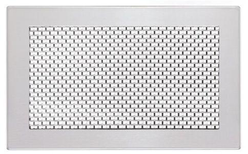 zehnder abdeckgitter 260x130mm grid one edelstahl 990320797. Black Bedroom Furniture Sets. Home Design Ideas