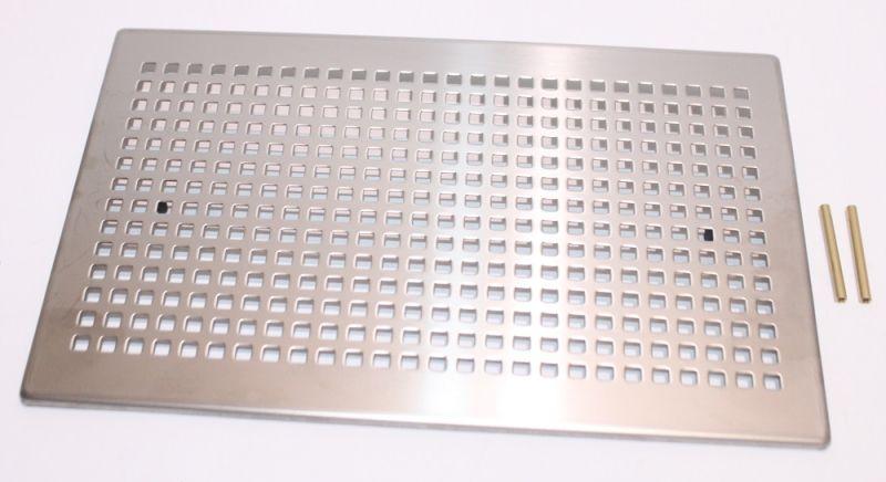 zehnder abdeckgitter 260x160mm torino edelstahl 990320630. Black Bedroom Furniture Sets. Home Design Ideas
