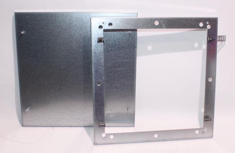 Zehnder Rahmen mit Deckel Rigips Verteiler 6-fach - 990322045