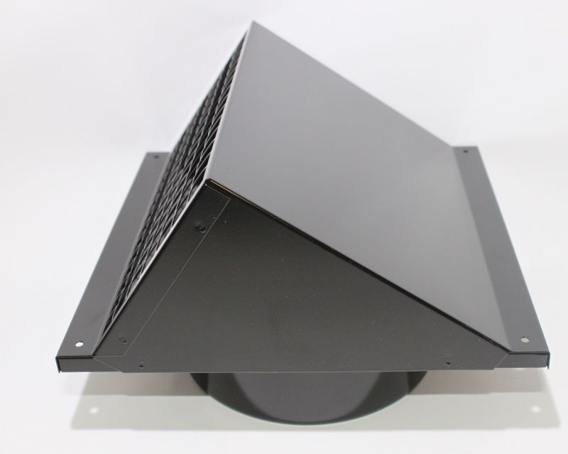 wolf cwl wandhaube schwarz dn 180 herst. Black Bedroom Furniture Sets. Home Design Ideas