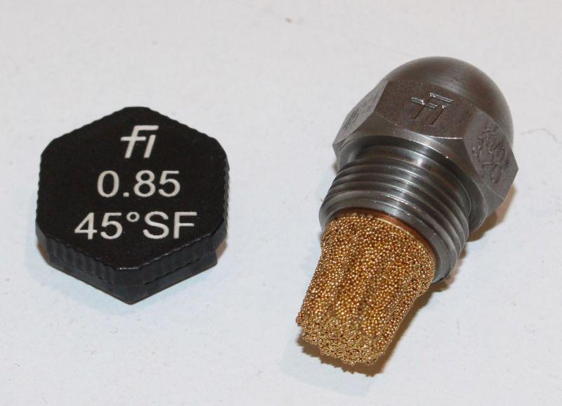 Steinen Ölbrennerdüse Vollkegel 0,75//45°S