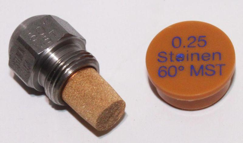 Steinen Ölbrennerdüse Vollkegel 0,60//60°S