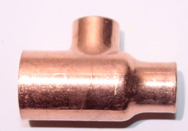 Viega Lotfitting Kupfer T Stuck Reduziert 22x15x15 Mm 101725