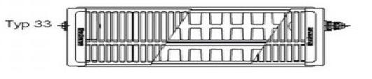 buderus r logatrend flachheizk rper 33 600 2300 7750003723. Black Bedroom Furniture Sets. Home Design Ideas