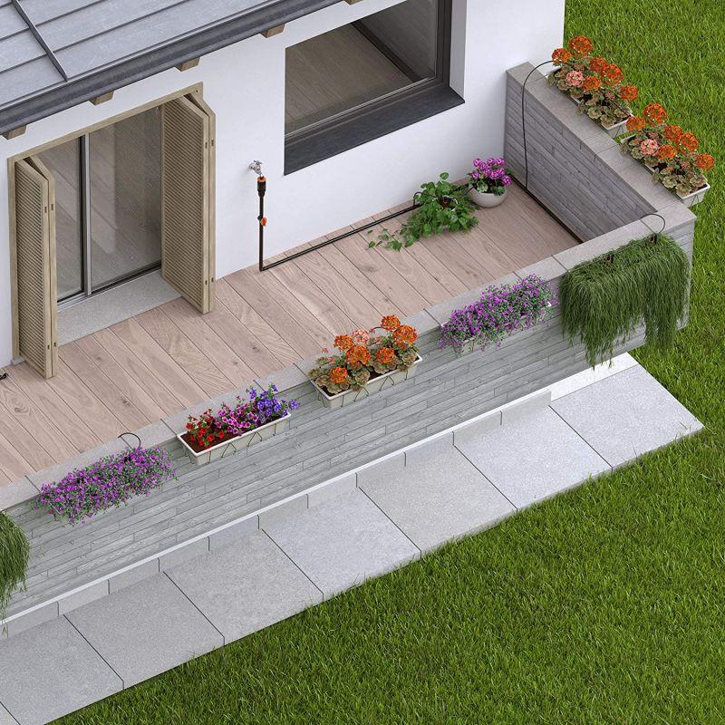 Claber Starter Set Terrasse für bis zu 20 Pflanzen