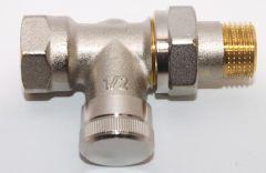 Danfoss Rücklaufverschraubung RLV 15 1/2 Durchgang - 003L0144