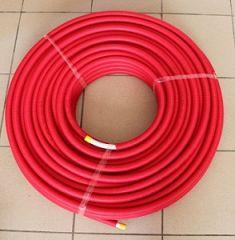 Uponor 14 x 2mm rot im Ring mit Schutzrohr je 75m 1013678