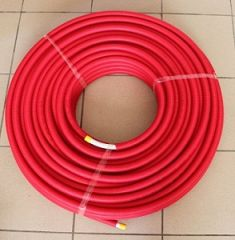 Uponor 16 x 2mm rot im Ring mit Schutzrohr je 75m 1013679