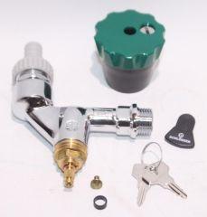Auslaufhahn Wasser-Safe DN15 1/2 mit Belüfter