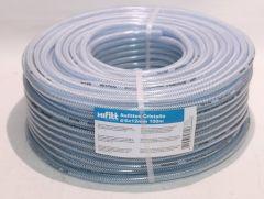 PVC-Schlauch transparent mit Polyestergewebe 6x12mm 100m