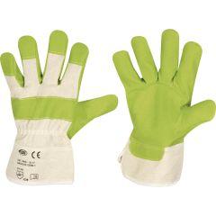 Kunstleder-Handschuh Gr.10,5 struktur. EN 388