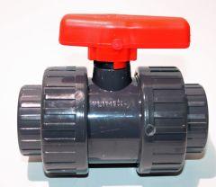PVC Klebefitting Kugelhahn DN15 20mm