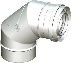 WS-Kunststoffabgassystem Revisionsbogen87 , DN 60/100