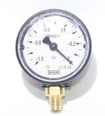 """Öldruckmanometer 63 mm  ¼/"""" radial mit Glyzerinfüllung Manometer Ölpumpe"""