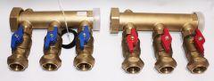 Soleverteiler MODUL 3-Fach, DN40 x DN32
