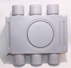 Inno-Products Flex-Verteiler PE 6-Stutzen NW75