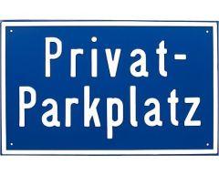 Hinweisschild Privatparkplatz - 8300438