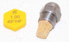 Fluidics Ölbrennerdüse Hohlkegel 6,00//80°HF