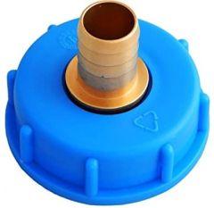 IBC Wassertank-Zubehör, Schlauchanschluss mit Varioadapter