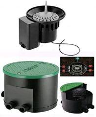 Claber 90829 Hydro 4 + Claber 90831 Rain Sensor RF Radio -