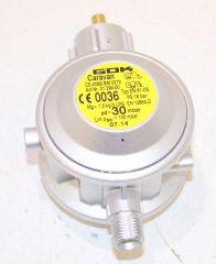 GOK Niederdruckregler 1/4LH, PN 16 1,5 kg/h 30mbar