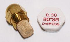 Danfoss Ölbrennerdüse 0,30/80°SR - 030F990202