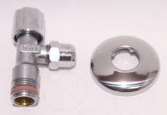 Sanitär Eckventil 1/2 selbstdichtend PA-geprüft - 7303813