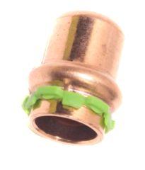 Kupfer Pressfitting Kappe P5301 D:15mm - 9021133