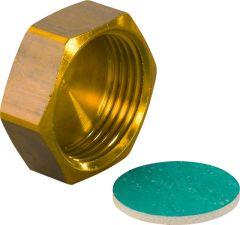 Uponor Verschlusskappe Q&E 3/4 m.Flachdichtung MS