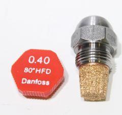 Danfoss Ölbrennerdüse Stahldüse Hohlkegel 0,40/80°HFD - 030H7004 - 7747028945