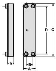 ZILMET Plattenwärmetauscher PT 35-50